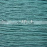 viscose nylon dyed twill creped fabric