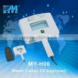 2015 MY-H06 Portabel wood lamp skin analyzer/ high quality facial skin analyzer/ cheap skin detects device(CE Certificate)