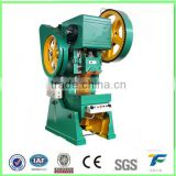 J23-40T hydraulic punch press , single punch press machine , Frame Mini Tablet Punch Press