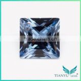 Wuzhou Gem Processing Loose #106 blue Synthetic Gemstone Spinel Rough for sale