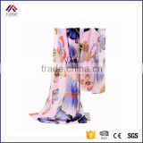 2016 New Fashion Women Lady Winter Classic Butterfly Print Shawls Scarf Scarves Chiffon Soft Long Scarf