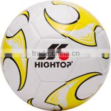 custom high quality competition soccer ball/wholesale official standard size 5 soccer ball