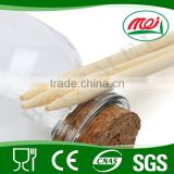 Bbq eco-friendly barbeque grill cotton bamboo skewer for candy manufacture