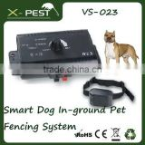 Visson VS-023 smart dog In-ground pet fencing system remote control dog training collar