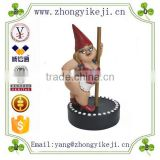 INQUIRY about factory custom made funny resin stripper gnome lawn garden ornament