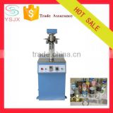 vertical tin can sealing machine for glass and paper bottle