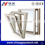 CE certificate living room PVC small awning windows