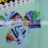 Plastic magnifying sheets / credit card magnifier