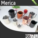 INQUIRY ABOUT Mirror polished stainless steel milk pitcher, coffee milk jug,cafetera espresso cups