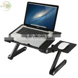 Adjustable Aluminum Portable Foldable Laptop Stand Ergonomic Design Desk