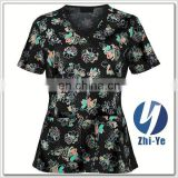 hospital uniform junior fit medical scrub nurse
