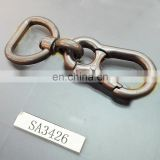 Gun metal coating high quality customized snap hooks