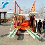 car transporter platform tow truck car carrier truck trailer