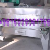 High output profession swing type peanut seeds baking machine/coated pistachio nuts roasting machine