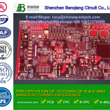 High Density Interconnector PCB Plating HDI Printied Circuit Boards Supplier with UL and RoHS Certification
