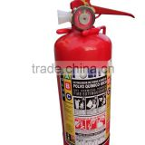 Cheap hot sale brass back mount fire extinguisher