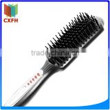 Hot sales ceramic LCD professional certification proved portable electric hair brush straightener