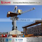 Mobile Jib Harbour Crane