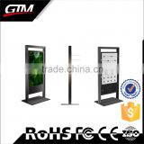 "55"" Infoor Floor Standing Lcd Ir Touch All In One Pc X86 Built In Windows Os Advertising Lobby Touch Screen Kiosk"