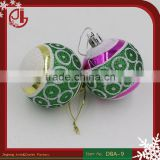 Random Mixed Christmas Tree Plastic Ball Ornaments Navidad Decoration For Home Christmas Ornament