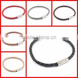 bracelet making suppiler Italian leather bracelets handmade leather bracelet                                                                         Quality Choice