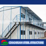 High quality light steel structure temporary portable prefabricated bali house