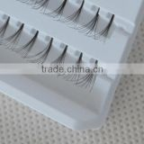 Synthetic natural individual false eyelashes