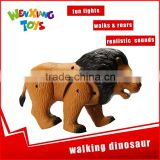 best gift plastic lion figurine walking and roaring toy animals