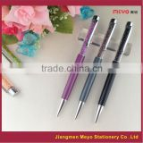 Metal Crystal Ballpoint pen,crystal pens,2015 new products