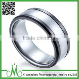 High quality china factory price cheap ring jewelry black wedding bands ring fashion custom ring for men