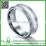 High quality tungsten ring manufacturer discount price customized logo ring fashion India jewelry