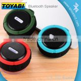 The beautiful sealed silicone cases wireless speaker and interface design ensure Waterproof