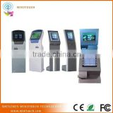 Electronic Wireless Communication Android Touch Screen Queue System Kiosk, Automatic Queue System Latest Kiosk