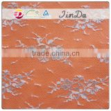 Pretty whoelsae new arrival silver foil lace fabric with factory price