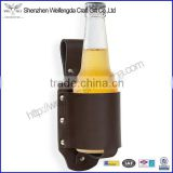 Unique Gift Convenient Genuine Leather Classic Beer Holster                                                                         Quality Choice