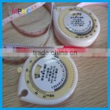 Water/blood/rain Drop Shaped Plastic PVC Measure Tape BMI Calculator