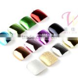 metallic nail art tips /artificial nail art tips /fake nails /false nails/nail art designs