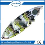 China wholesale new design sit on fishing kayak/no inflatable boat-new sunrise angler                                                                         Quality Choice