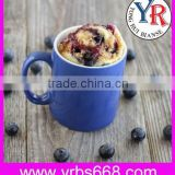OEM coffee cup red blue porcelain sublimation mugs alibaba china