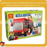 Educational City Bus Block Set block brick toy
