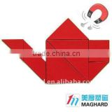 wholesale promotional magnet tangram puzzle for Educational DIY Toy                                                                         Quality Choice