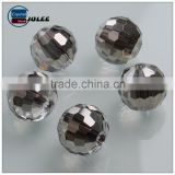 Chinese round crystal beads reflective glass beads wholesale