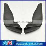 Universal fitment Carbon Fiber Front Splitter for car, Front Bumper Lip Disffuser