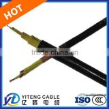 PVC Insulated Copper Wire Braid Shielded Flexible Control Cable-KVVRP