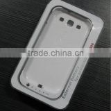 For samsung galaxy s3 i9300 special white back clip power supply portable external backup battery 2200mAh
