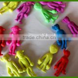 Customized Inflation Toys Colored Growing Animals In Alien Shapes