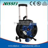 Extension cord CE approved 50m cable reel drum with rod