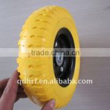 wheelbarrow wagon solid PU foam wheel 3.50-8/4.00-8                                                                         Quality Choice