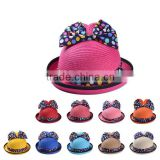 2015 Hot Sale Wholesale Promotional Cheap Manufacture Fashion China Braid Custom Straw Hat