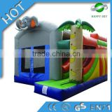 2015 Hot Sale inflatable bouncy castle with water slide,giant inflatable bouncer,inflatable bounce house for sale